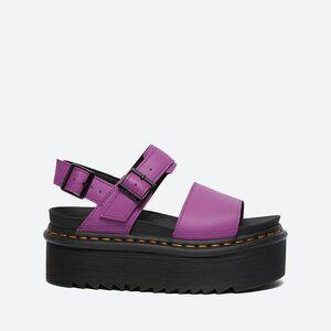 Сандалии Женские Dr. Martens Voss Quad Bright Purple 26725501