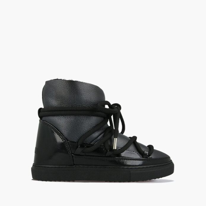 Inuikii Sneaker Gloss 70202-6 Black