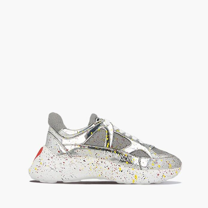 Love Moschino Paint Sketch Sneakers JA15476G08JE190A