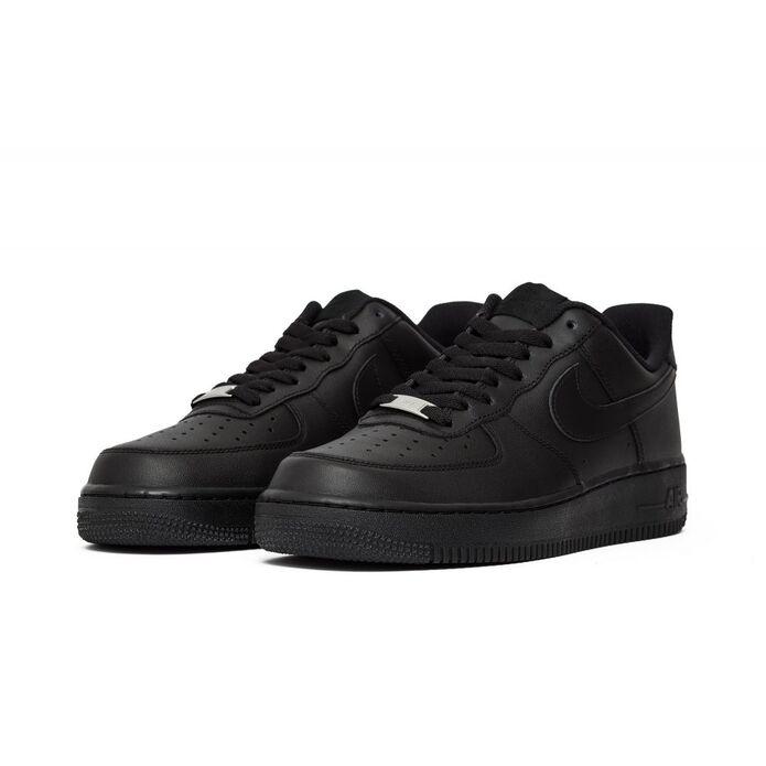 "Баскетбольные кроссовки Buty Nike Air Force 1 Low 07 ""All Black"" (315122-001)"