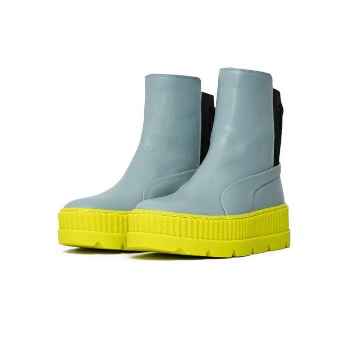 """Оригинальные кроссовки Puma x Fenty Chelsea Sneaker Boot """"Sterling Blue"""" (36626601)"""