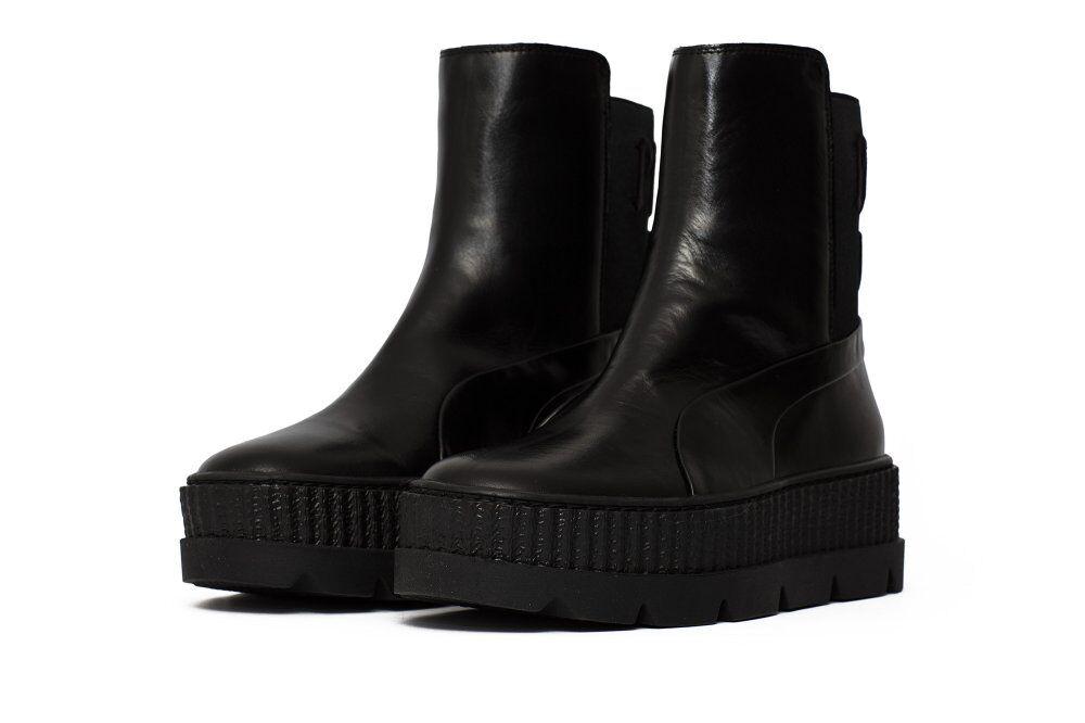 buy online 4cae9 d9e68 Оригинальные кроссовки Puma x Fenty Chelsea Sneaker Boot Black (36626603)
