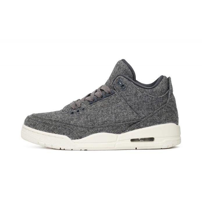 """Баскетбольные кроссовки Air Jordan 3 Retro """"Wool"""""""