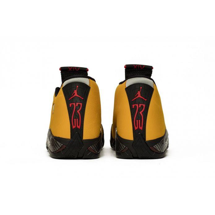 """Оригинальные кроссовки Air Jordan 14 Retro SE """"Reverse Ferrari"""" (BQ3685-706)"""