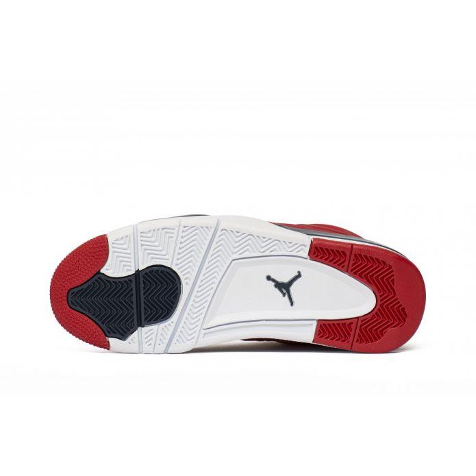 Баскетбольные кроссовки Air Jordan 4 Retro FIBA Gym Red (CI1184-617)