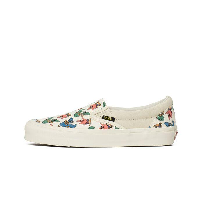 Оригинальные кроссовки Vans Vault x SpongeBob UA OG Slip-On (V00UDFQM1)