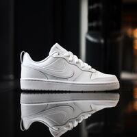 Кеды Nike Court Borough Low 2 (GS) (BQ5448-100)