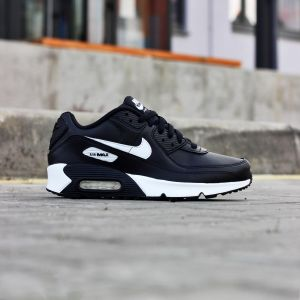 Кроссовки Nike Air Max  90 Leather (GS) (CD6864-010)