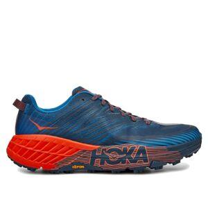 Hoka Speedgoat 4 M Сине-Оранжевые