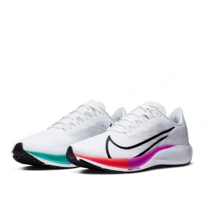 Оригинальные кроссовки Nike Air Zoom Pegasus 37 M Белые-Multikolor