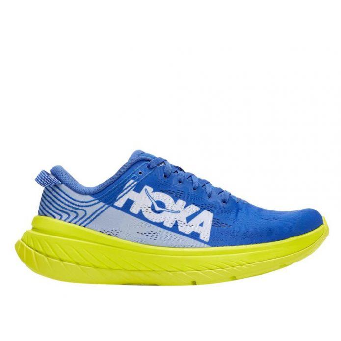 Оригинальные кроссовки Hoka Carbon X M Navy-Желтые