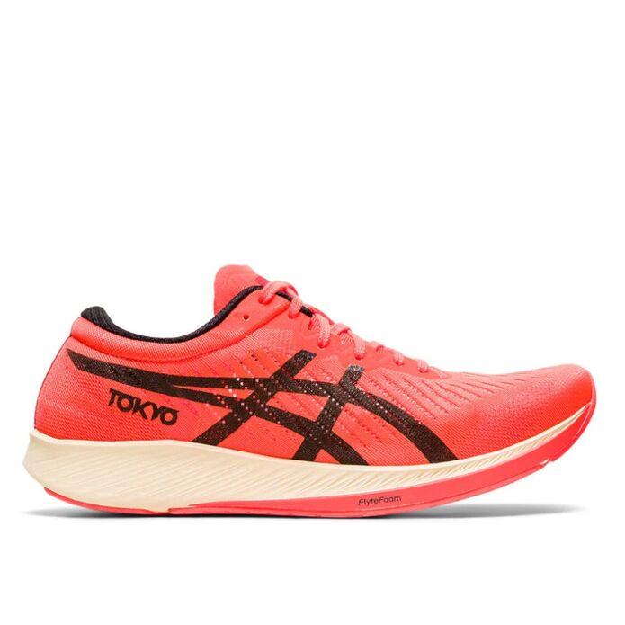 Оригинальные кроссовки Asics MetaRacer Tokyo M Оранжево-Черные