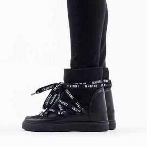 Inuikii Sneaker Wedge Classic Laces 70203-55 BLACK