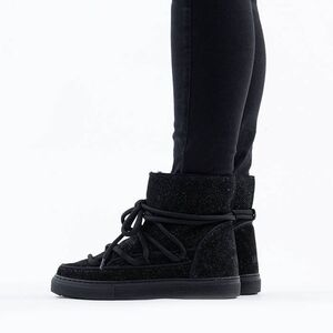 Inuikii Sneaker Glitter 70202-111 BLACK