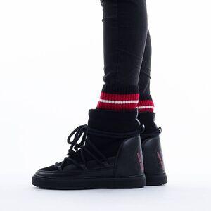 Inuikii Sneaker Wedge Sock 70203-113 BLACK