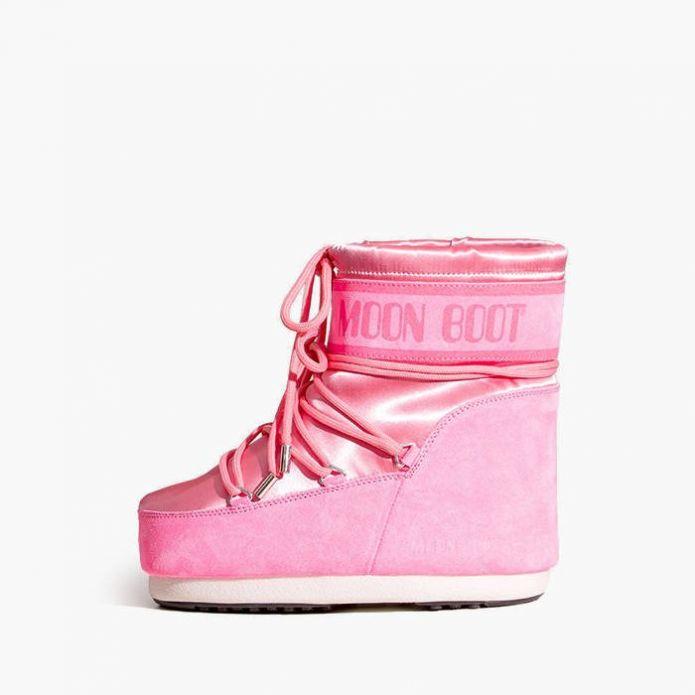 Женские Moon Boot Classic Low Satin 14089300 002