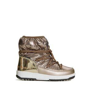 Moon Boot JR GIRL LOW NYLON PREMIUM WP GOLD