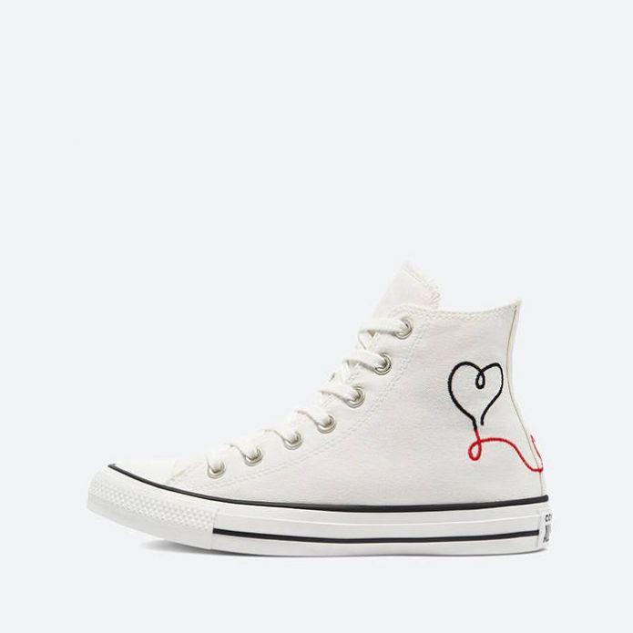 Кроссовки Converse Chuck Taylor All Star Hi Vintage 'Valentine's Day' 171159C