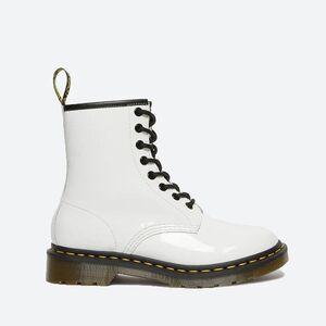 Ботинки Женские Dr.Martens 1460 W White Lamper Patent 11821104