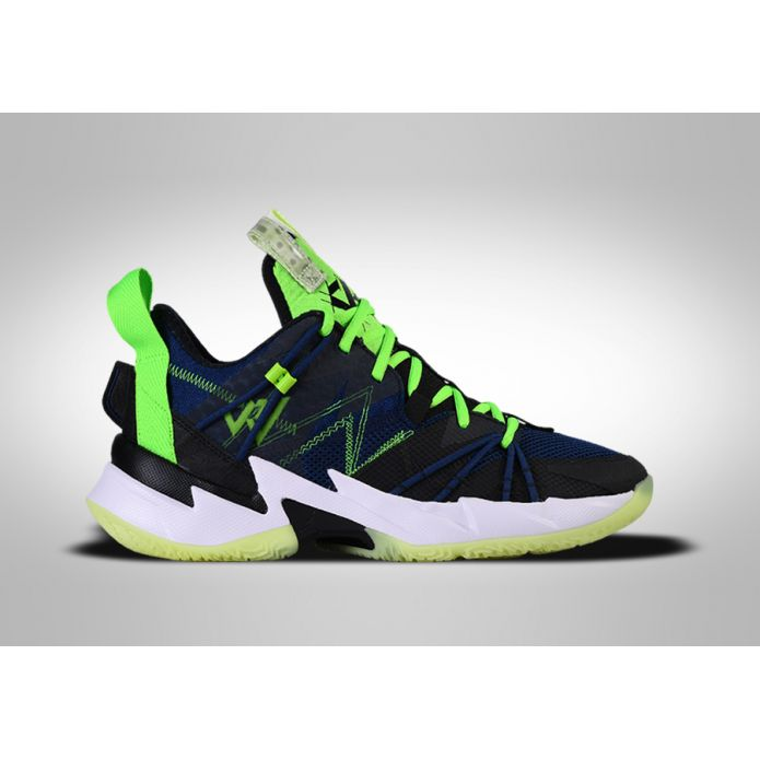 Баскетбольные кроссовки NIKE AIR JORDAN WHY NOT ZER0.3 SE GS NAVY BLACK VOLT R. WESTBROOK