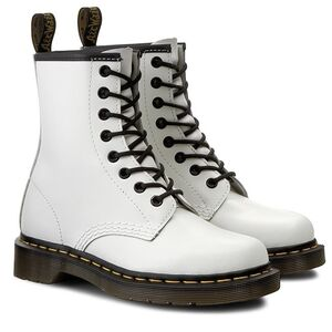 Ботинки Dr. Martens 1460 White Smooth (10072100)