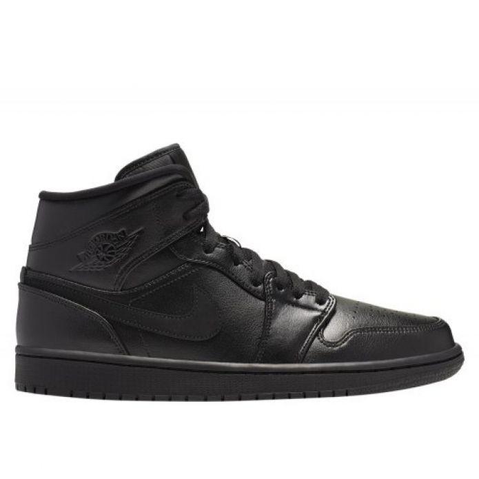 Баскетбольные кроссовки Air Jordan 1 MID (554724-090)