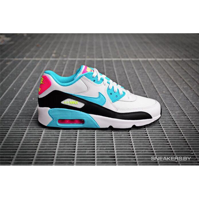 Nike Air Max 90 Mesh (GS) (833340-104)