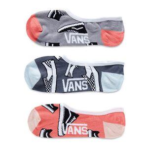 Vans Classic No Show (3 пары) (VA3INA448)