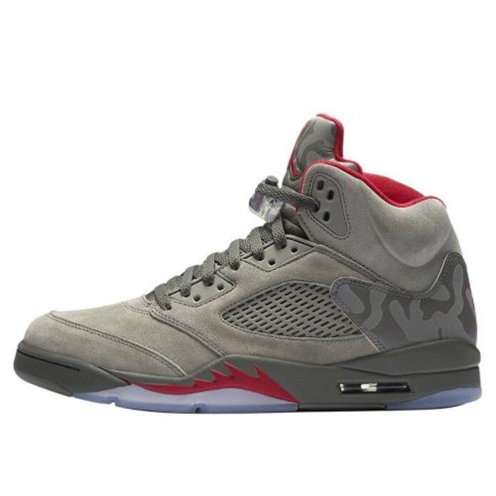 """Баскетбольные кроссовки Air Jordan 5 Retro """"Take Flight/Camo"""" (136027-051)"""