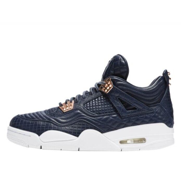 """Баскетбольные кроссовки Buty Air Jordan 4 Retro Premium """"Obsidian"""""""