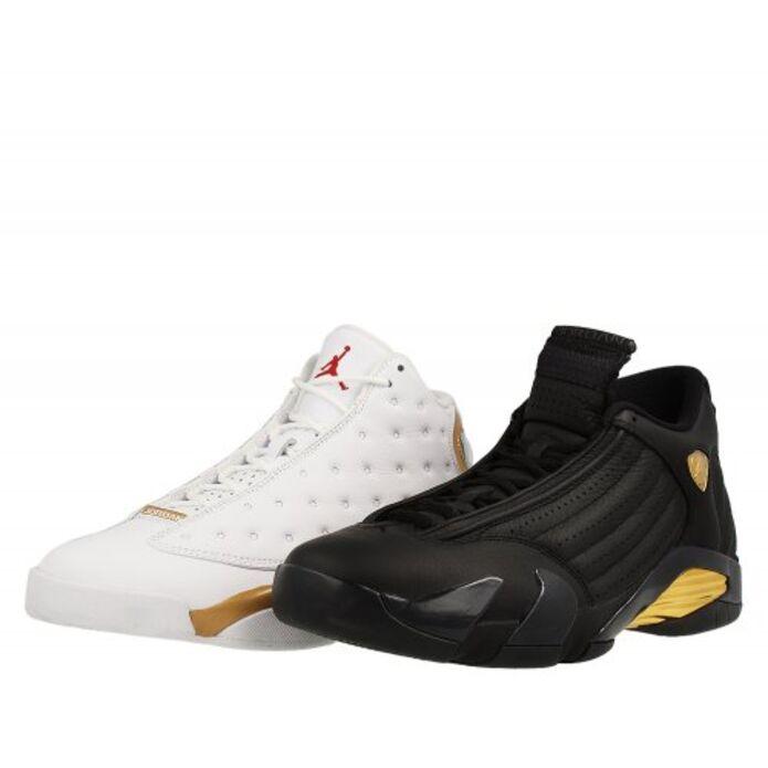 """Баскетбольные кроссовки Air Jordan 13/14 DMP """"Finals Pack"""""""