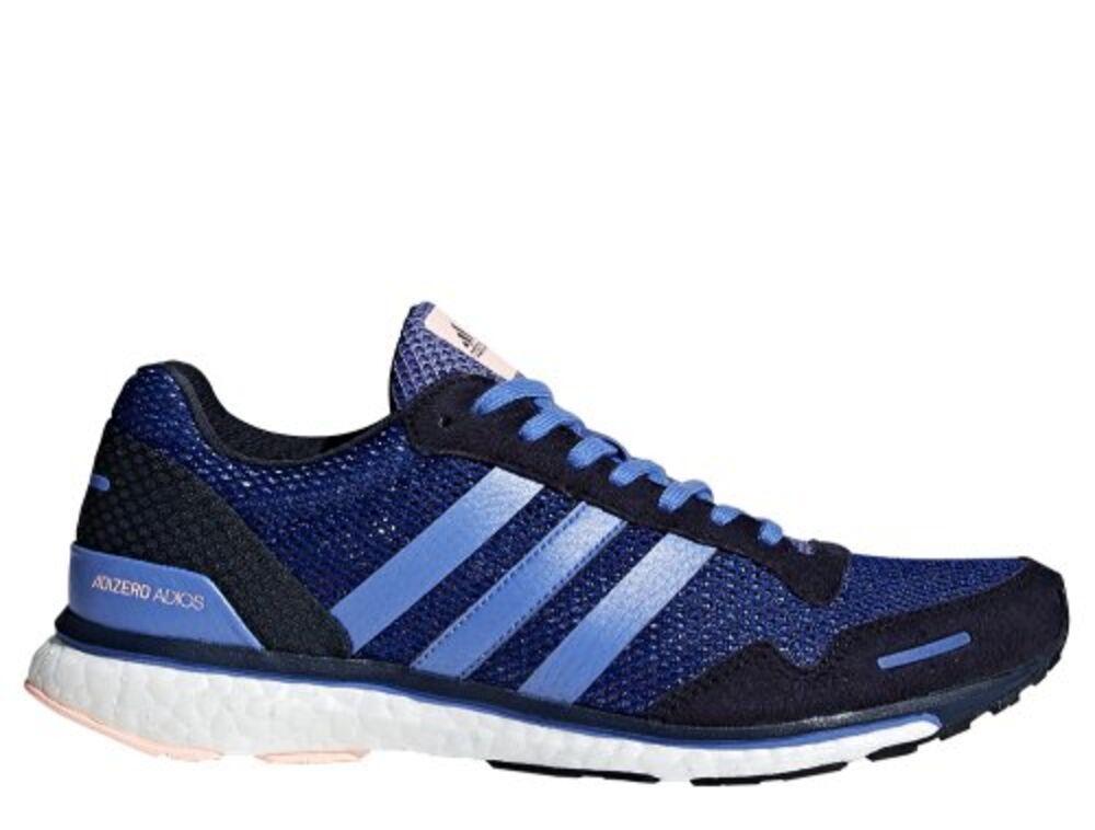 663bfe8f Купить кроссовки для бега adidas Adizero Adios 3 Shoes W Navy-Синие ...