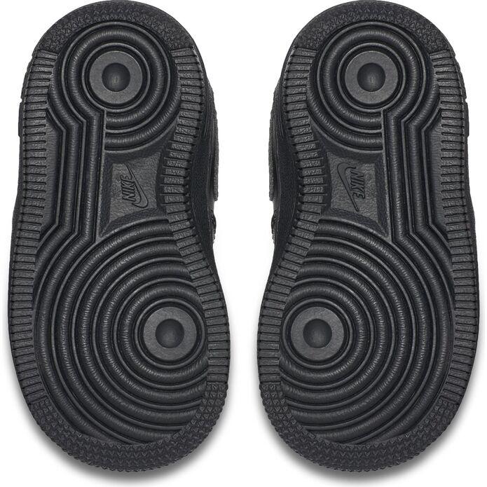 """Оригинальные кроссовки Nike Force 1 MID """"ALL BLACK"""" (TD) 314197-004"""