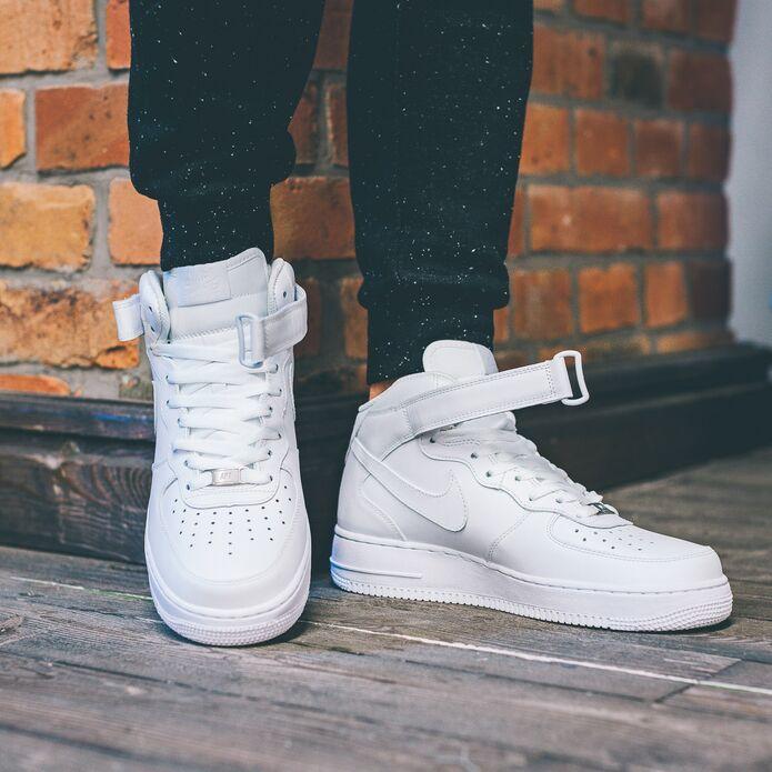 Оригинальные кроссовки Nike AIR FORCE 1 MID '07 315123-111