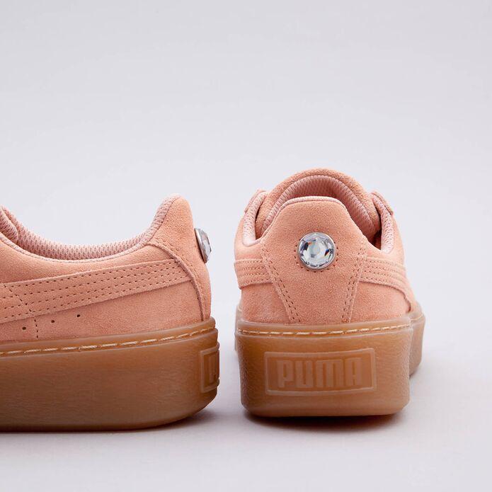 Оригинальные кроссовки Puma SUEDE PLATFORM JEVEL JR 365131 01