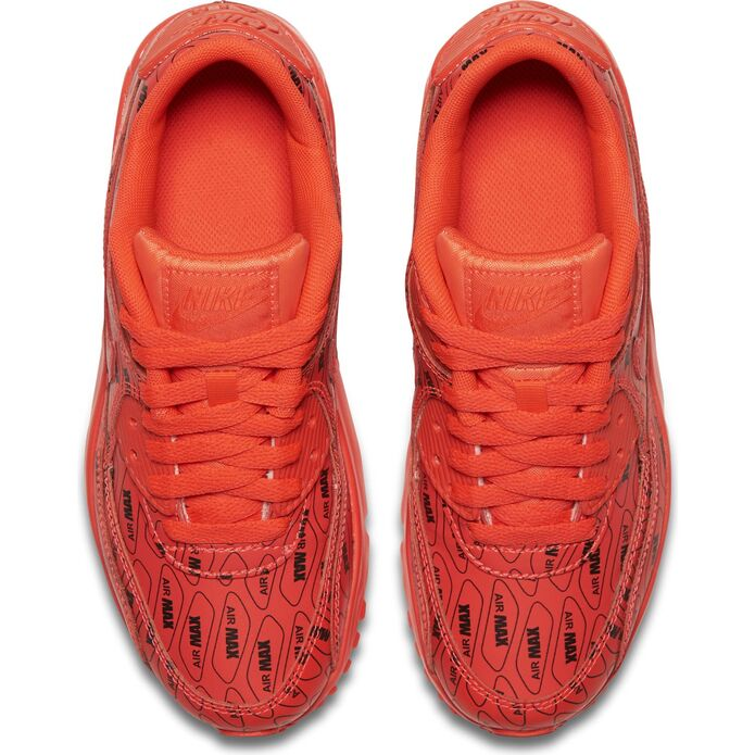 "Оригинальные кроссовки Nike AIR MAX 90 SE LEATHER (GS) ""JUST DO IT"" 859560-600"