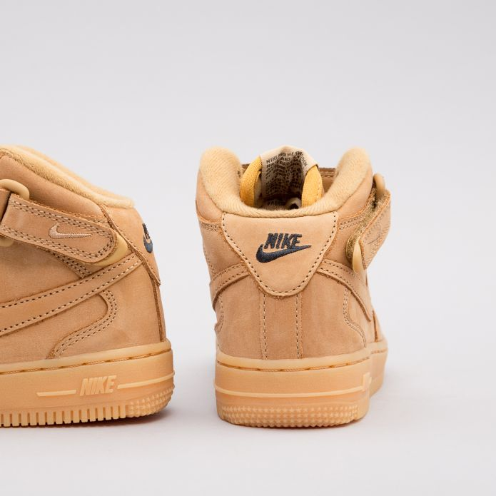 """Оригинальные кроссовки Nike AIR FORCE 1 MID PS """"FLAX"""" AH0756-203"""
