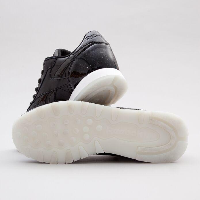 Оригинальные кроссовки Reebok Classic Leather L Pearl-Black
