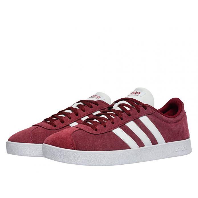Оригинальные кроссовки adidas VL Court 2.0 Burgundy