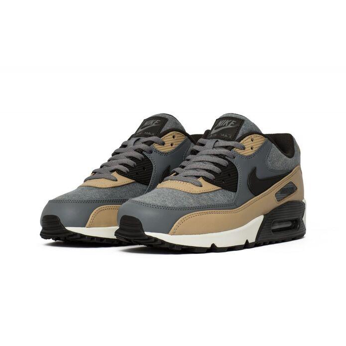 """Оригинальные кроссовки Nike Air Max 90 Premium """"Cool Grey"""""""