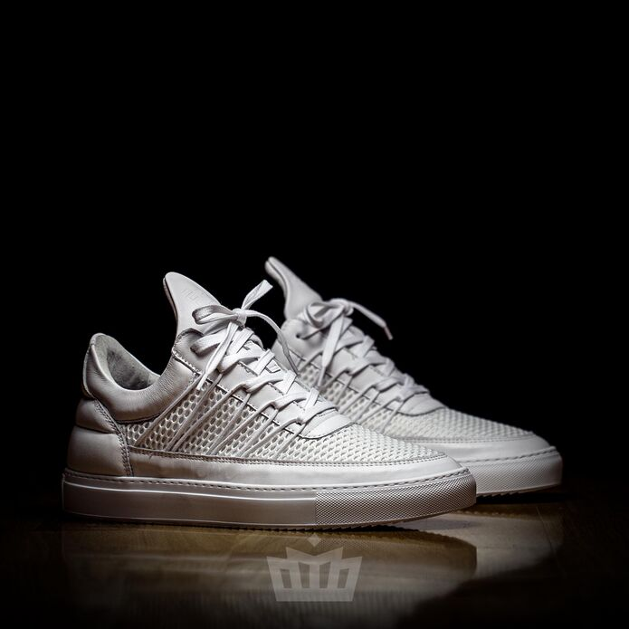 filling pieces Low Top Cane White