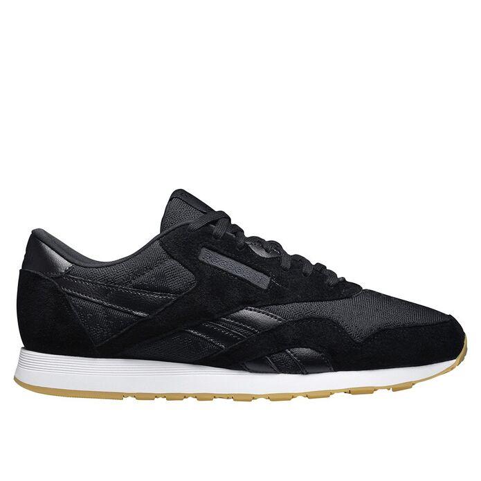 Оригинальные кроссовки Reebok Classic Nylon HS Black