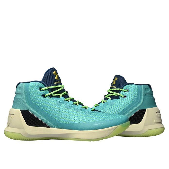 Баскетбольные кроссовки Under Armour Curry 3 Neptune