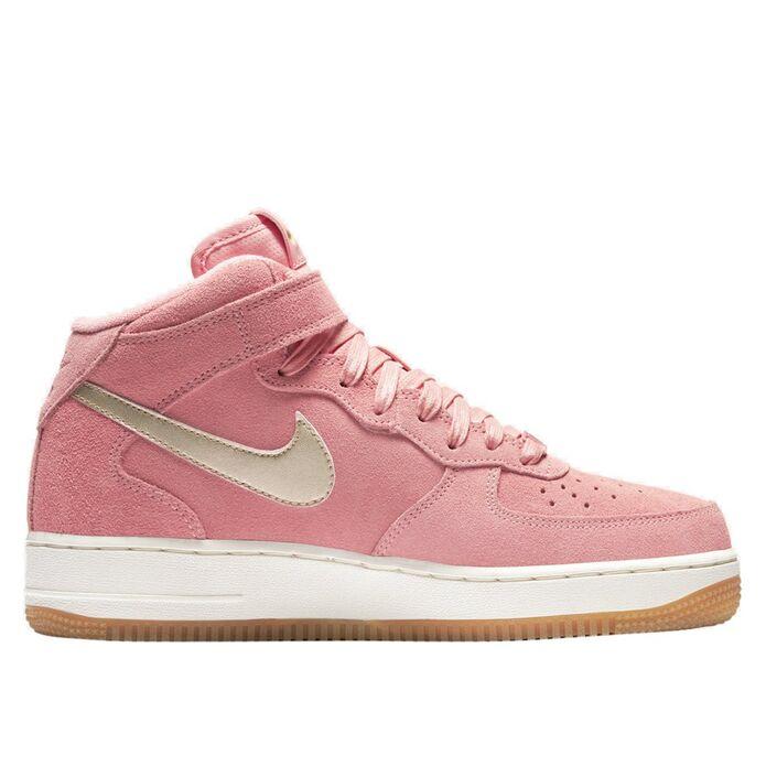 Оригинальные кроссовки Nike Wmns Air Force 1 '07 Mid Seasonal Bright Melon