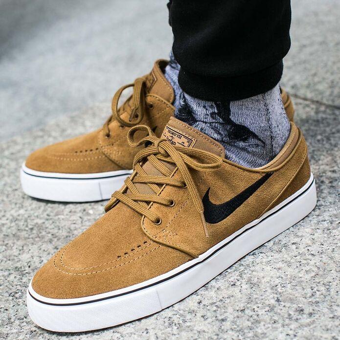 Оригинальные кроссовки Nike Zoom Stefan Janoski Golden Beige