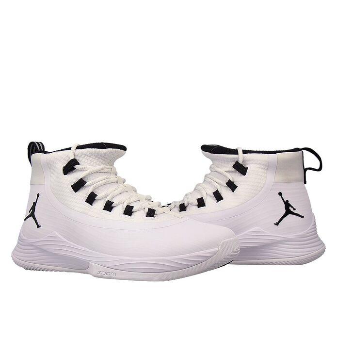 Баскетбольные кроссовки Jordan Ultra.Fly 2 White/Black