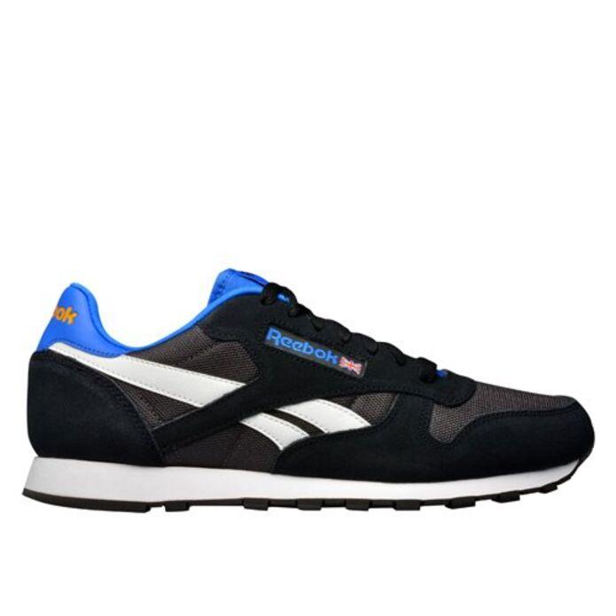 Кроссовки Reebok Classic Sport Clean Black/Coal/White/Blu (V67302)