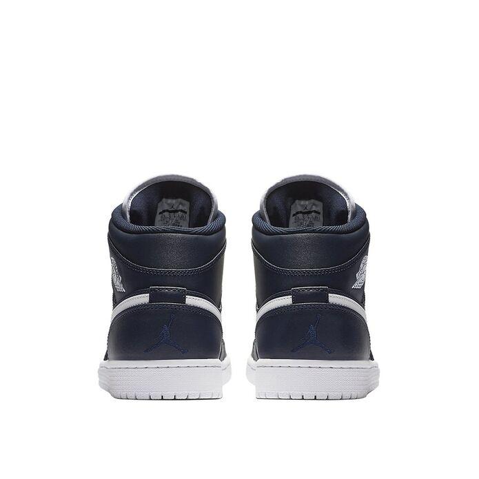 Баскетбольные кроссовки Air Jordan 1 Mid Obsidian