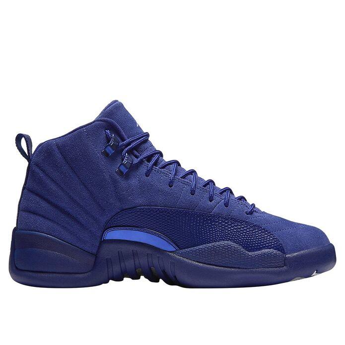 Баскетбольные кроссовки Air Jordan 12 Retro Deep Royal Blue