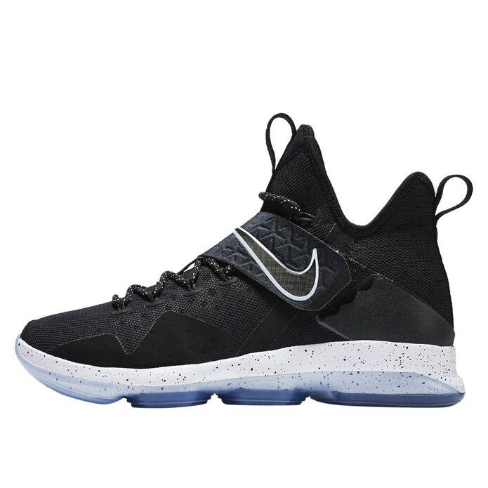 Баскетбольные кроссовки Nike LeBron XIV Black Ice